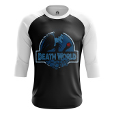 Мужской Реглан 3/4 Death World - купить в teestore