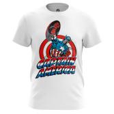 Футболка Капитан Америка Первый - купить в teestore. Доставка по РФ
