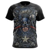 Футболка Капитан Америка 4 - купить в teestore. Доставка по РФ