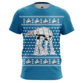 Футболка Christmas Walker - купить в teestore. Доставка по РФ