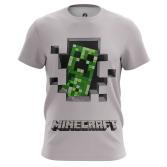 Футболка Minecraft 8 - купить в teestore. Доставка по РФ