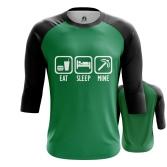 Футболка Eat Sleep Mine - купить в teestore. Доставка по РФ