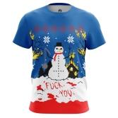 Футболка Christmas of white купить
