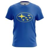 Футболка Subaru Logo - купить в teestore. Доставка по РФ