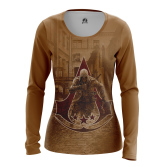 Женский Лонгслив Assassin's Creed 3 - купить в teestore