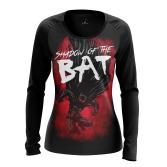 Женский Лонгслив Shadow of the Bat - купить в teestore