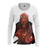 Женский Лонгслив Darth Maul - купить в teestore