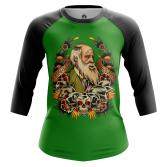 Женский Реглан 3/4 Дарвин - купить в teestore