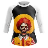 Женский Реглан 3/4 Dead Ronald - купить в teestore