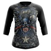 Женская майка Капитан Америка  купить