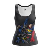 Женская Майка Бэтмен против Супермена - купить в teestore