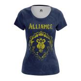 Женская Футболка Alliance - купить в teestore