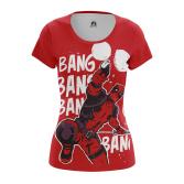 Женская Майка Bang Bang - купить в teestore