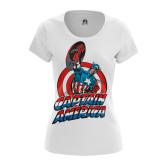 Женская Футболка Капитан Америка Первый - купить в teestore
