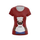 Женская Футболка Chef - купить в teestore