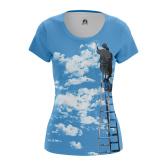 Женская Футболка Облака - купить в teestore