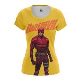 Женская Футболка Daredevil - купить в teestore