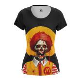 Женская Футболка Dead Ronald - купить в teestore