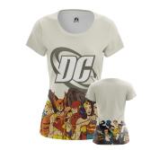 Женская Футболка DC comics - купить в teestore