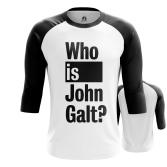Футболка Who is John Galt - купить в teestore. Доставка по РФ
